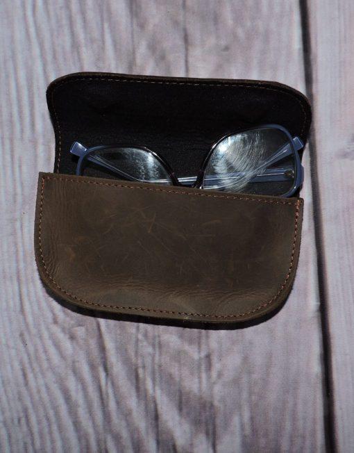 skórzane etui na okulary