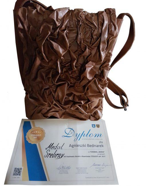 torebka damska nagrodzona w konkursie